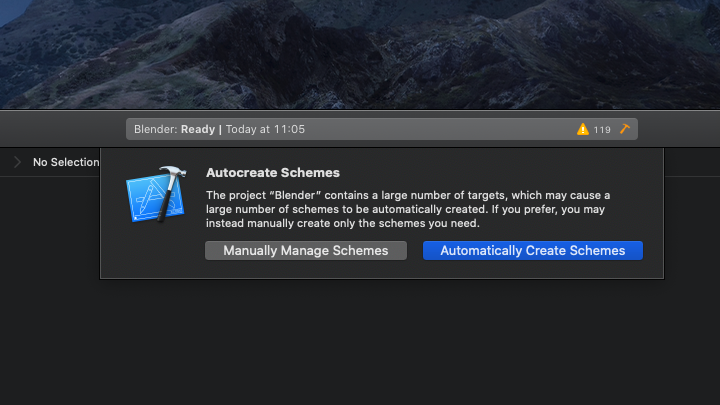 Dev-Doc-Building-Blender-Xcode11-automatically-create-popup.png